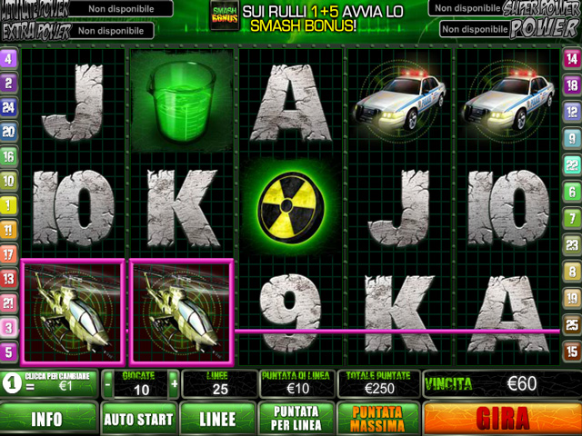 Video Slot Hulk